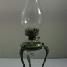 Unusual Oil Lamp with Tripod Stand